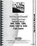 International Harvester Cub Cadet 1450 Lawn & Garden Tractor Operators Manual