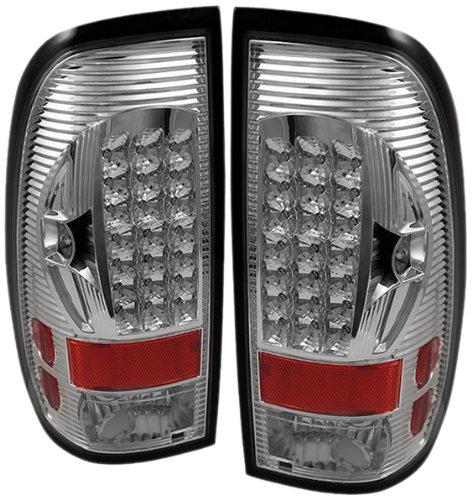 Spyder Auto ALT-ON-FF15097-LED-C Ford F150 Styleside/F250/350/450/550 Super Duty Chrome LED Tail Light