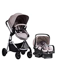 Evenflo Pivot Modular Travel System, Sandstone BOBEBE Online Baby Store From New York to Miami and Los Angeles