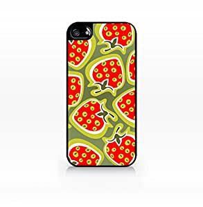 Case Geeration - Fruit Pattern Case - Strawberry Pattern Case - Apple iPhone 6 Case - Apple iPhone 6 Case - Hard Plastic Case