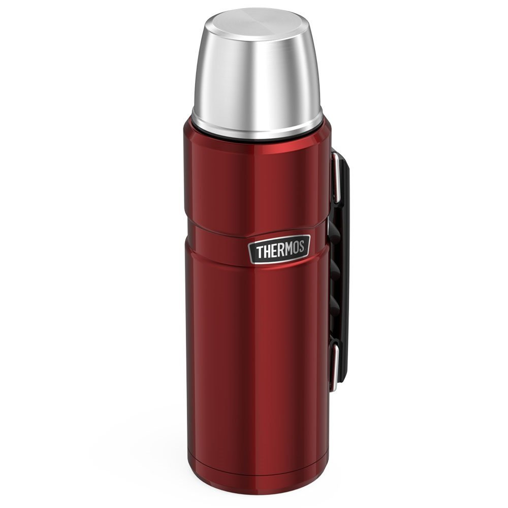 Thermos Stainless King 40 Ounce Beverage Bottle, Cranberry by Thermos (Image #2)