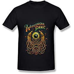 Black T Shirt For Men Love Widespread Panic Tour 2016 Fan Logo