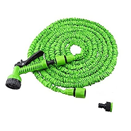 25 foot garden hose. house of quirk expandable upto 25 feet garden hose \u0026 spray foot