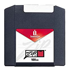 Iomega Zip Disk, 100mb Ten Pack, Formatted For Pc, Multicolored (Discontinued By Manufacturer)