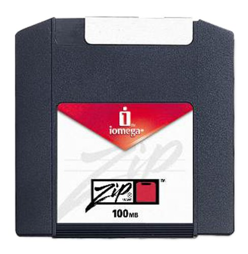 Iomega Zip Disk, 100MB Ten Pack, Formatted for PC, Multicolored (Discontinued by Manufacturer) by Iomega