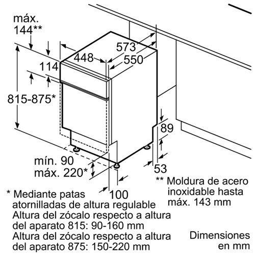 Bosch SPS58M38EU Independiente 10cubiertos A+ lavavajilla ...