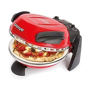 G3 Ferrari G10006 Delizia Pizza Oven - 1200W in Red