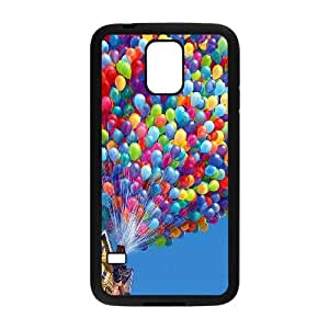 Samsung Galaxy S5 Cell Phone Case Black_up balloons disney illust art (1) Fkgid