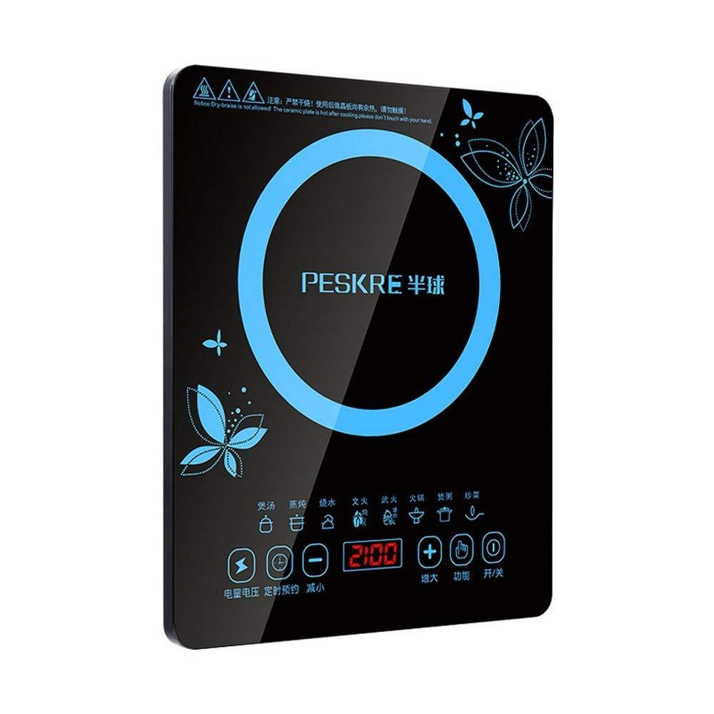 XIAOKUOAI Hemispherical Electric Multi Induction Cooker 2200W 8 Files Touchpad Energy Saving Chafing Dish Cooker Mini Type Waterproof