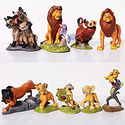 Amazoncom The Lion King Toys Action Figuressimba Nala