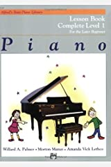 Piano Lesson Book: Complete Level 1, for the Later Beginner Kindle Edition