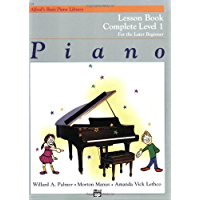 Piano Lesson Book: Complete Level 1, for the Later Beginner book cover