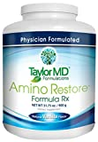 AminoRestore - Vanilla Flavor - Amino Acid Formula Rx - Essential Workout, Weight Loss Supplement – Provides Nutrients, Vitamins, Minerals – Optimise Metabolism, Energy, Body Composition & Gut Health – Suitable for Vegetarians & Dairy Free - Guarant