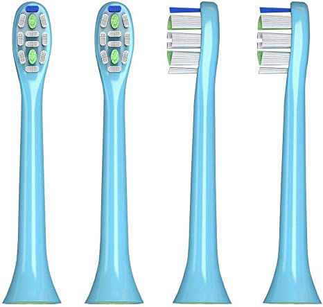 Aiyabrush Replacement Brush Heads for Kids Electric