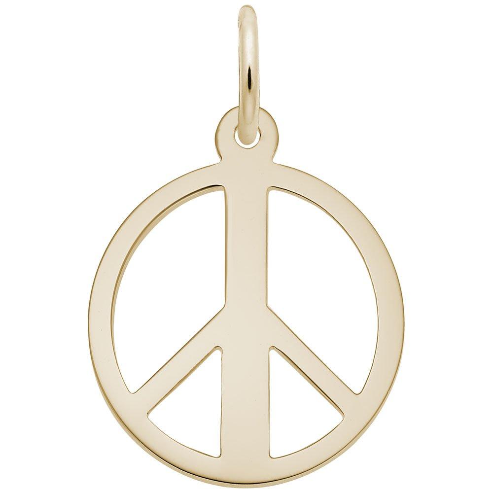 Peace Symbol Rembrandt Charms