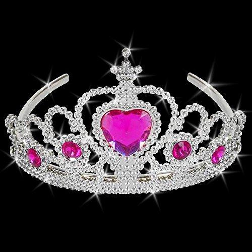 German Trendseller® - Schmuck Krone Tiara┃ NEU ┃ Kristalle ┃ Crown ┃ Harband ┃ Schmuck ┃ Prinzessin Krone