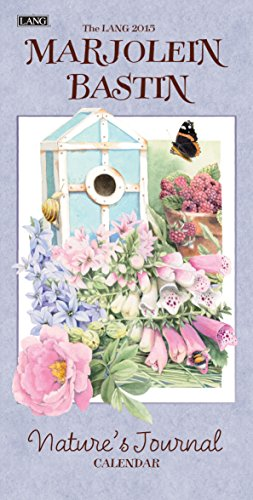 Lang January to December, 7.75 x 15.5 Inches, Perfect Timing Marjolein Bastin Natures Journal 2015 Vertical Wall Calendar (1079106)