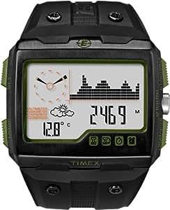 Timex Men's T49664CS Expedition WS4 Altimeter Barometer Temperature Compass Black Strap Watch