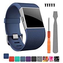 Fitbit Surge Band,DigiHero Adjustable Replacement Strap Band for Fitbit Surge