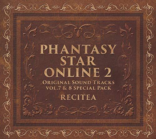 판타지스타 온라인2 오리지날 사운드트랙 Vol.7&8 호화 세트(CD6매 셋트)(데카 자케부)