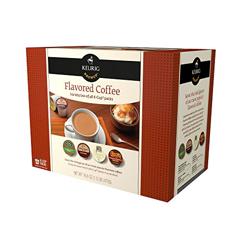 Keurig Flavored Coffee Collection 48-ct. K-Cups Pods Variety Pack