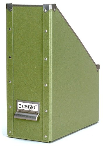 cargo Naturals Magazine File, Sage, 12-3/4 by 10 by 4-3/4-Inch