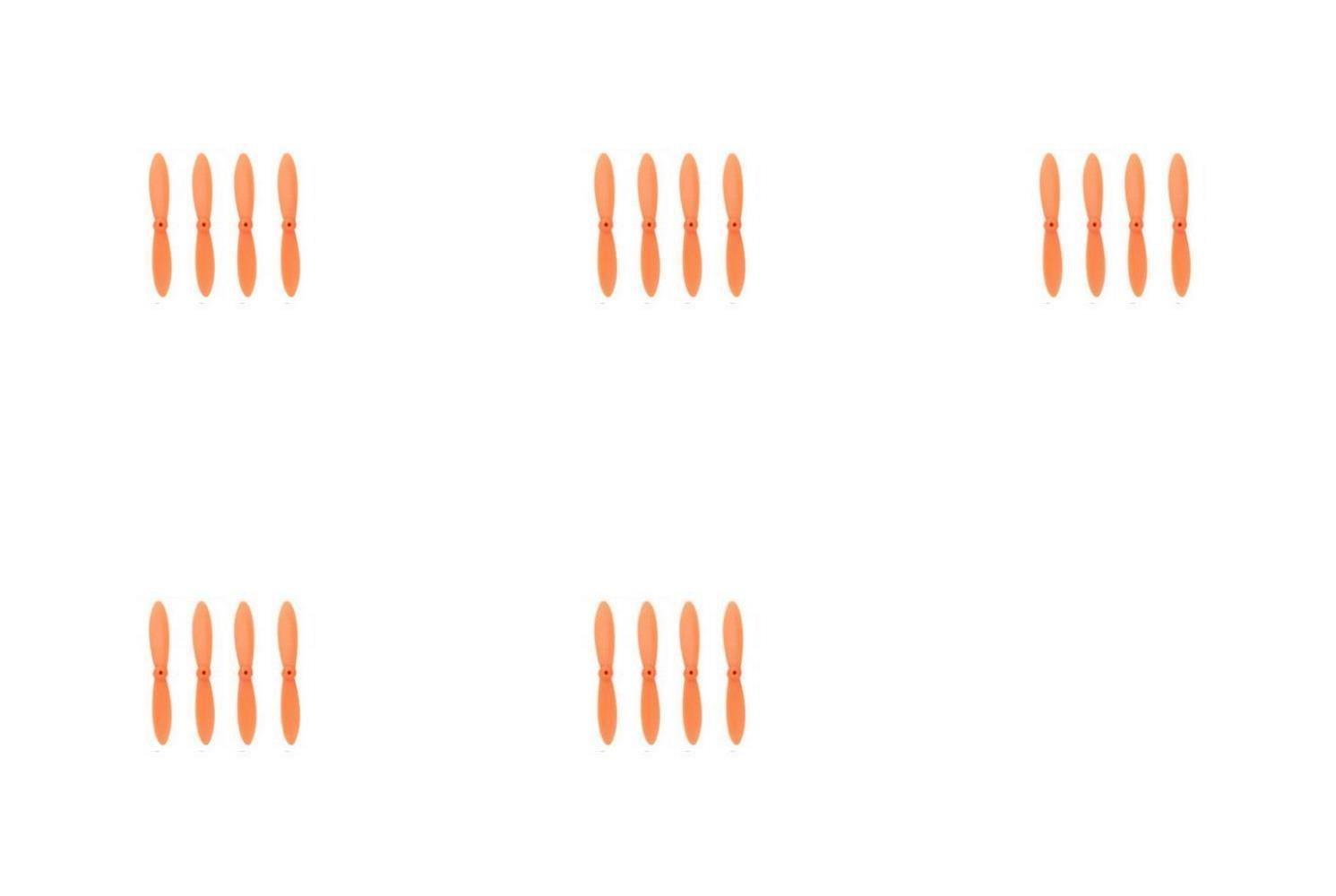 cómodo 5 x Quantity of WLtoys WLtoys WLtoys V272 All Orange Nano Quadcopter Propeller blade Set 32mm Propellers Blades Props Quad Drone parts - FAST FROM Orlando, Florida USA  buscando agente de ventas