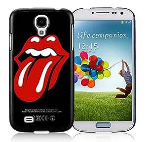 Samsung Galaxy S4 rolling stones Black Screen Cellphone Case Unique and Genuine Design