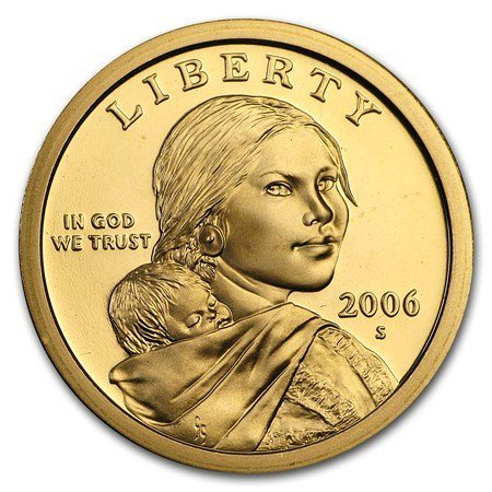 2006 S Sacagawea Native American Proof Dollar PF1