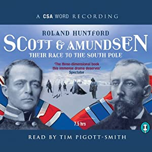 Scott and Amundsen Audiobook