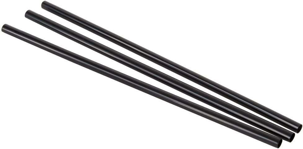 Black Plastic Stir Sticks - Coffee Stir Sticks/Sip Straw, For Coffee Bars, Restaurants, Office, Or Home Use 1000 pack (7 ½ Inches)