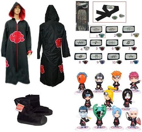 Narto capa Akatsuki Sunkee capucha para traje de buzo para ...