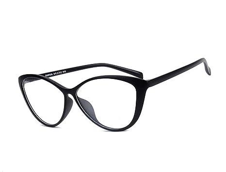 Amazon.com: Agstum Ladies Womens Cat eye TR90 Glasses Frames Optical ...