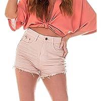 Shorts Jeans Feminina Setentinha Colorido - DZ6215-11