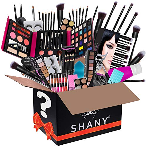 SHANY Gift Surprise – AMAZON EXCLUSIVE – All in One Makeup Bundle – Includes Pro Makeup Brush Set, Eyeshadow Palette,Makeup Set or Lipgloss Set and etc. – COLORS & SELECTION VARY