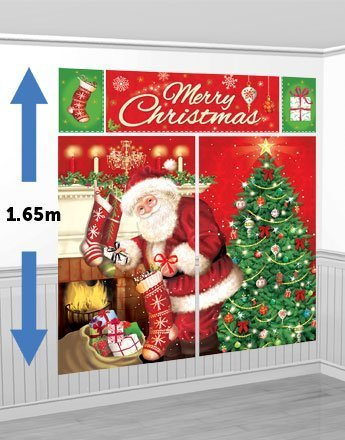 Amazon.com: Magía de la Navidad Escena Setter Kit – Kit de 1 ...