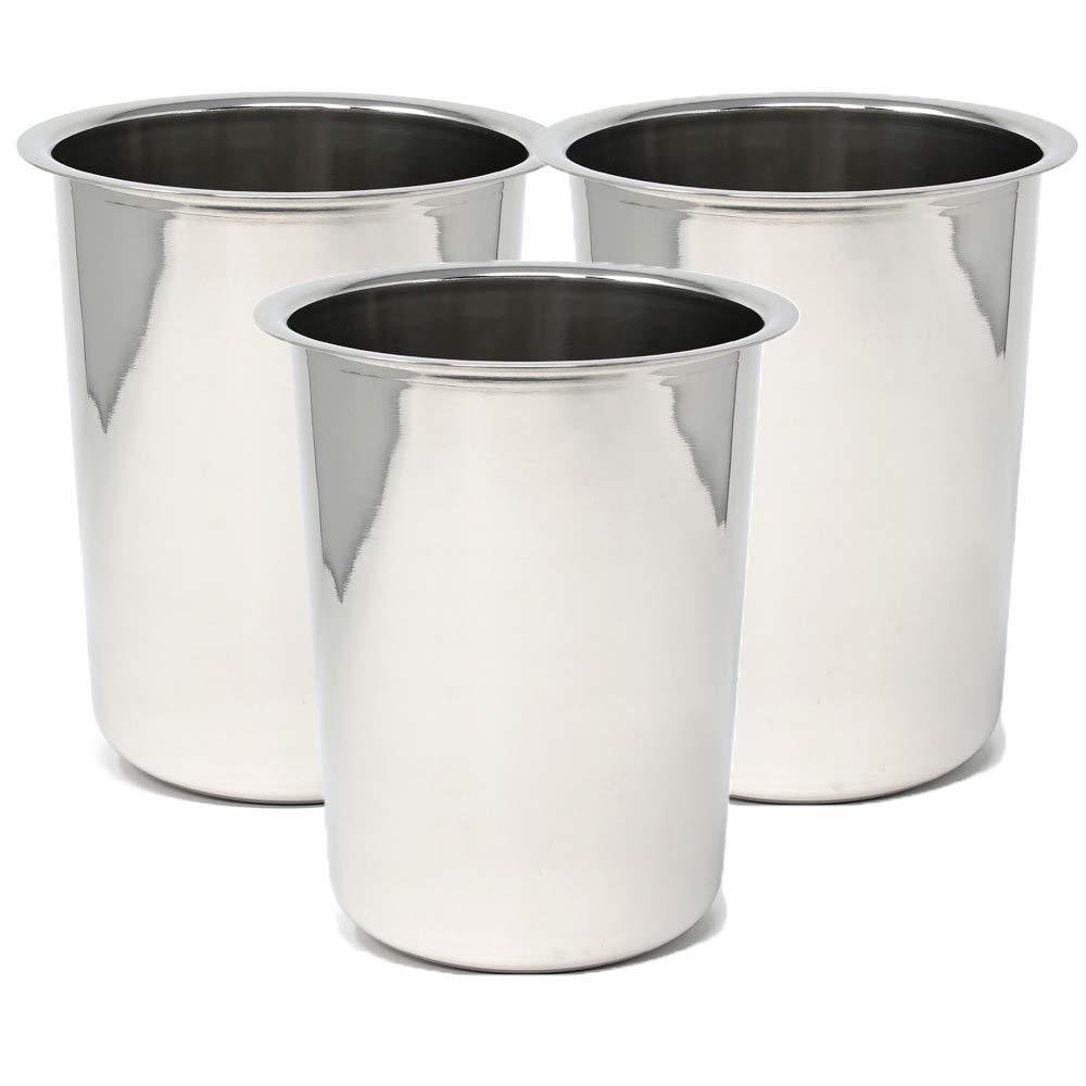 Winco BAM-1.25 Bain Maries, 1.25-Quart (3)