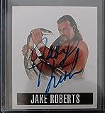 2014 Leaf Originals Jake The Snake Roberts Alternate Art SSP Auto Autograph Card - WWE HOF WCW Wrestlemania