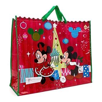 Disney Mickey Minnie Mouse & amigos Navidad Bolsa XXL