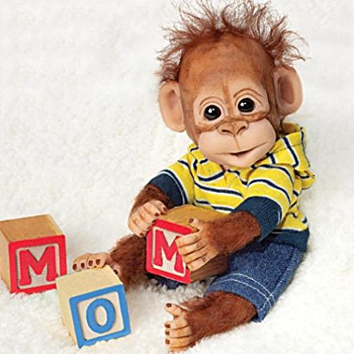 (Ashton Drake Playtime With Charlie Happy Handfuls Of Fun Monkey Doll)