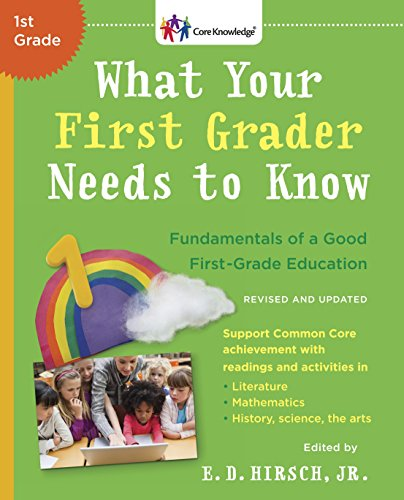 What Your First Grader Needs to Know (Revised and Updated): Fundamentals of a Good First-Grade Education (The Core Knowledge -