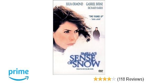 Amazon com: Smilla's Sense Of Snow: Julia Ormond, Gabriel Byrne, Jim