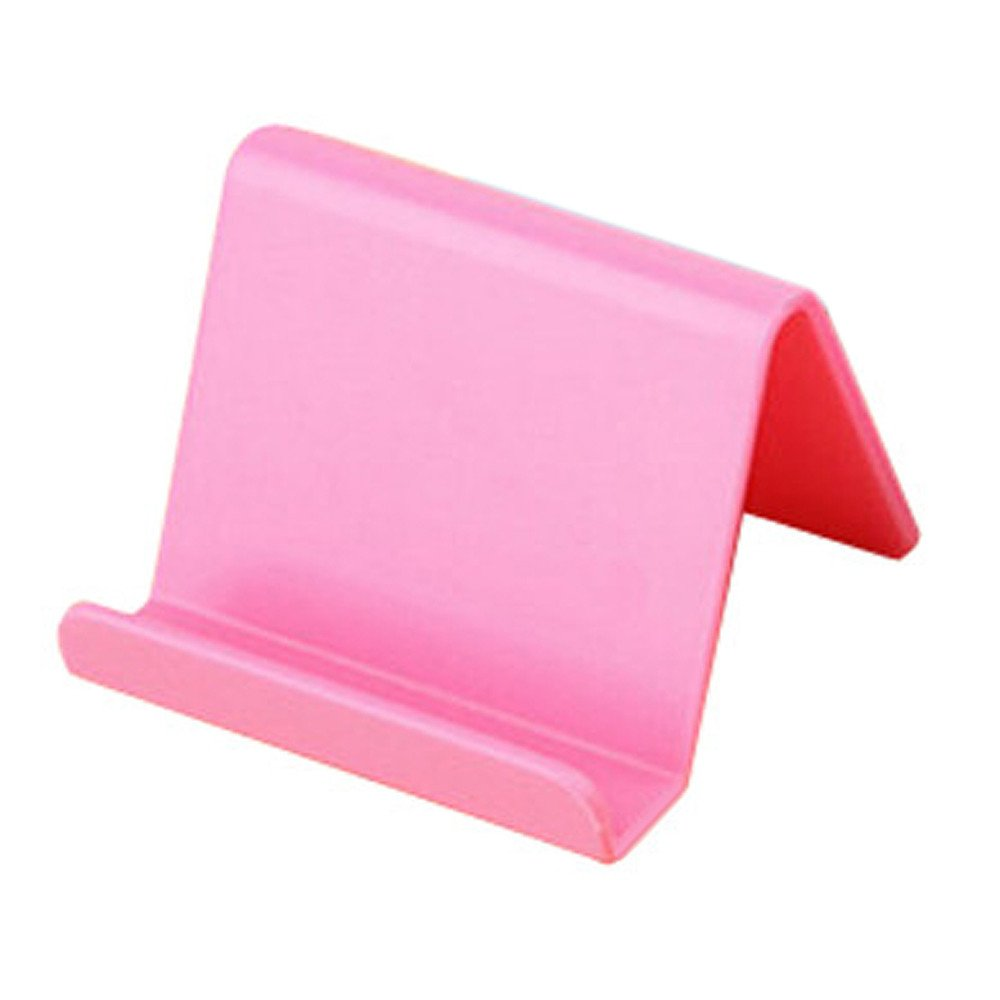 ♚Rendodon♚ Storage Hook Holder, Mobile Phone Remote Control Fixing Bracket, Mobile Phone Holder Candy Mini Portable Fixed Holder Home Supplies (Pink)