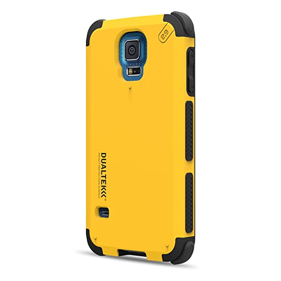 DualTek Extreme Shock Case for Samsung Galaxy S5 - Kayak Yellow