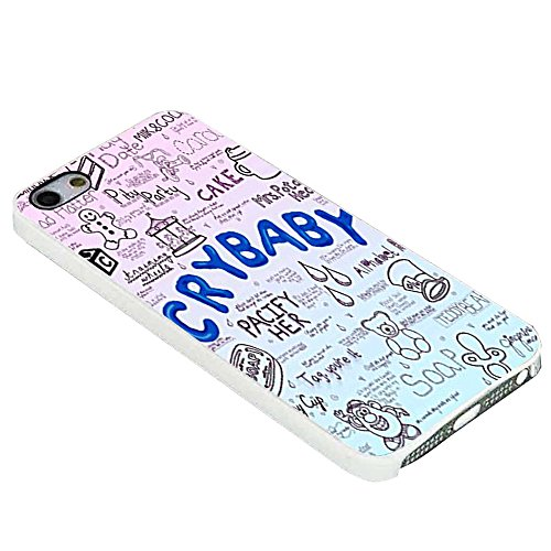 Cry Baby Song Art - Melanie Martinez for Iphone Case (iPhone 5/5s white)
