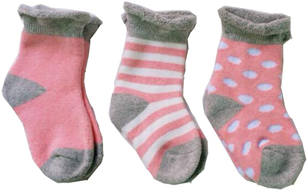 Style 2, 0-1year Lucky staryuan 6Pairs Baby Socks Thick Cotton Infant Toddler Warm Socks