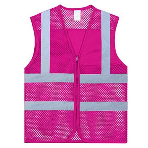 Pink Reflective Mesh - 6