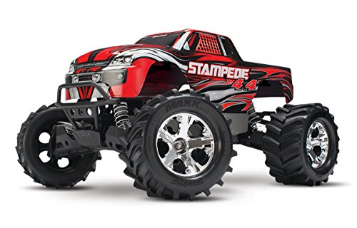 Traxxas 67054-1 Stampede 4X4: Monster Truck, Ready-To-Race (1/10 Scale), Colors May Vary (Rtr Traxxas Stampede)