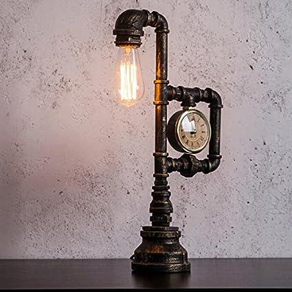 Lámpara de hierro Iluminación Industrial Vintage hierro ...