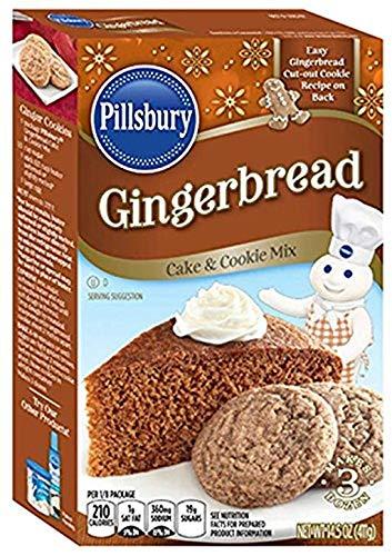 Pillsbury Gingerbread Mix, 14.5000-Ounce (Pack of